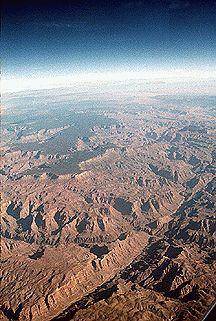 Grand Canyon from space: NASA photo